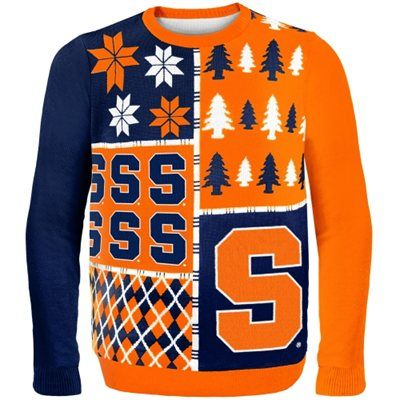 Syracuse Orange Busy Block Ugly Sweater Cuse Pinterest