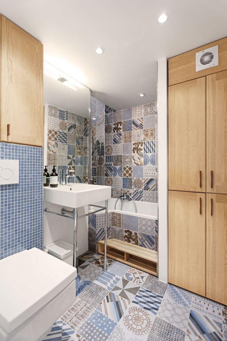 Loft Paris Belleville Hills - Picture gallery #architecture #interiordesign #tiles