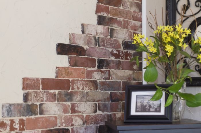1000 Ideas About Brick Veneer Wall On Pinterest Thin