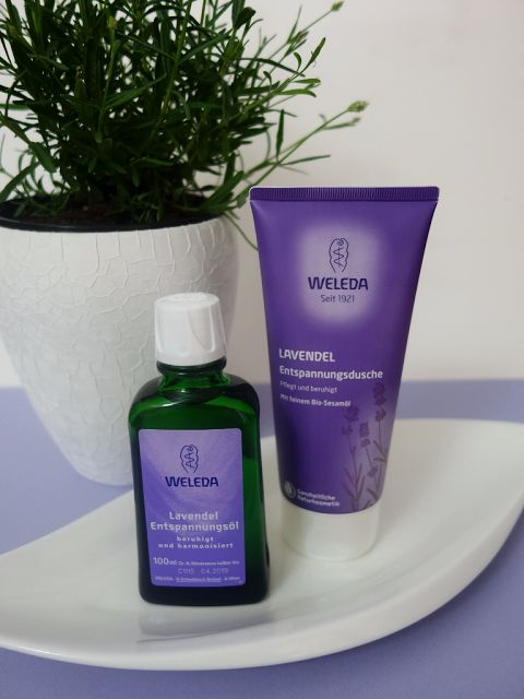 All my cosmetics: Levandulový relax s Weledou