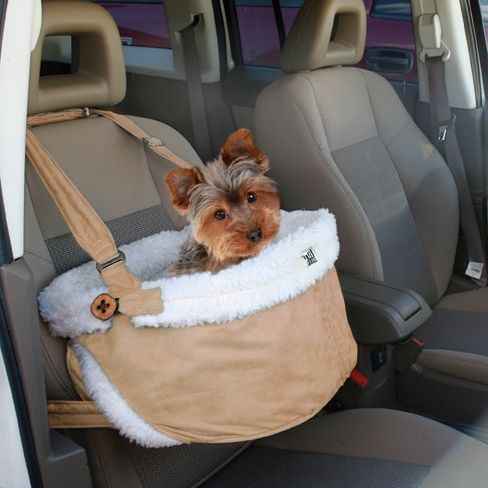 I want this for Declan! He'd love to see out the window in the car and he wouldn't be trying to jump onto my lap.