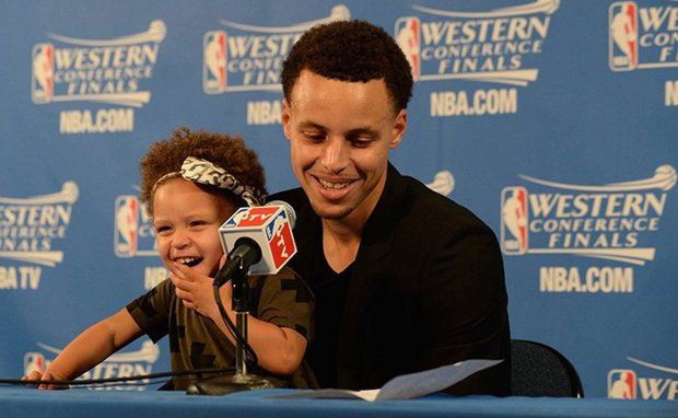 Here's How Stephen Curry's Adorable Daughter Sparked A Bit Of A Controversy Stephen Curry #StephenCurry