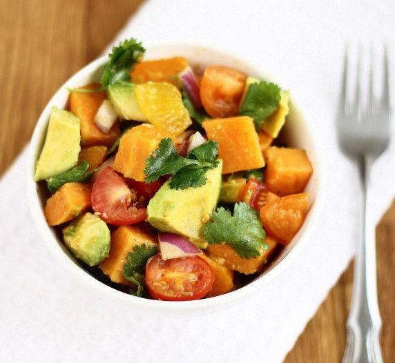 Sweet Potato & Avocado Salsa