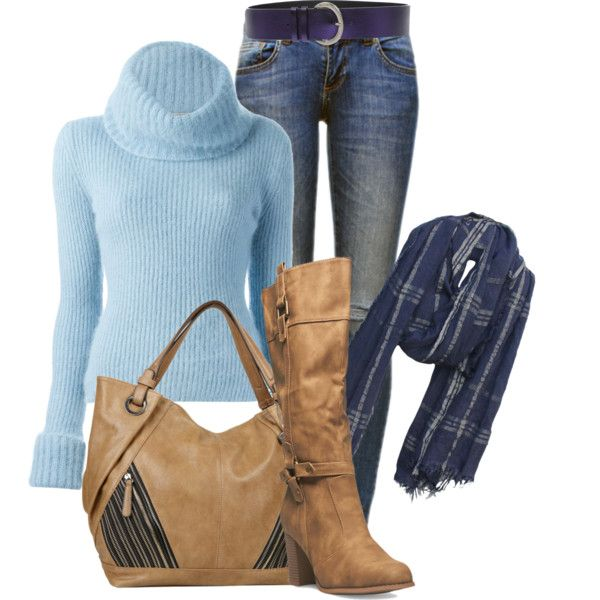 outfit by mkomorowski on Polyvore featuring Ermanno Scervino, Anine Bing, Wet Seal, Big Buddha, Leigh & Luca and Hogan