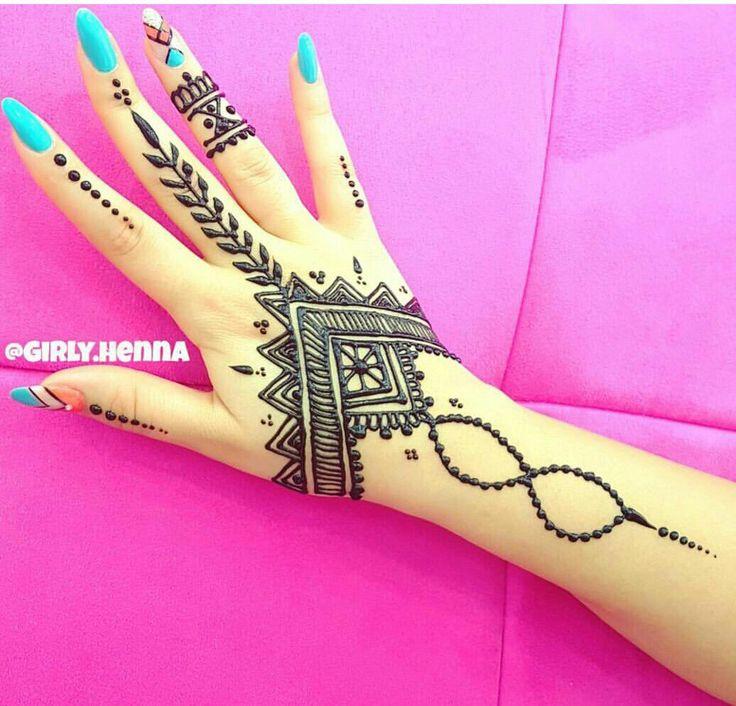 #simple #pretty #henna #mehendi #design
