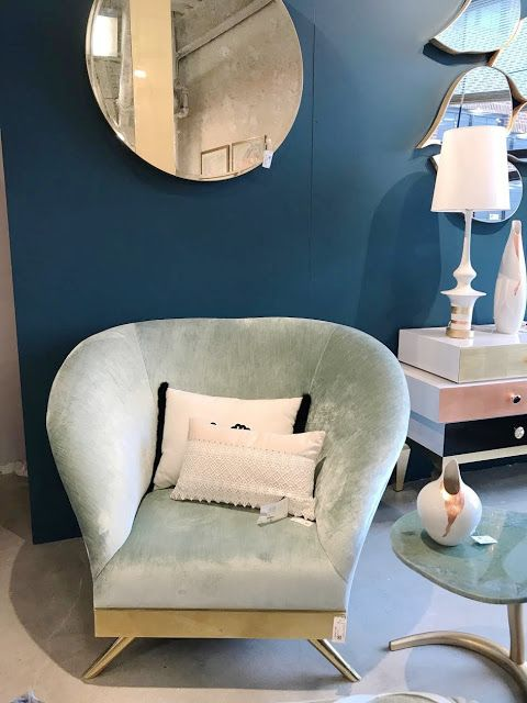 Velvet on trend - High Point Market -  There were so many beautiful trends that we spotted at High Point Market this fall...   And one of them-�   was all things velvety good.   ...