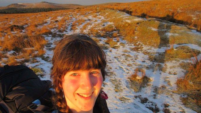 Stunning sunrise on Dartmoor, walking the Abbot's Way