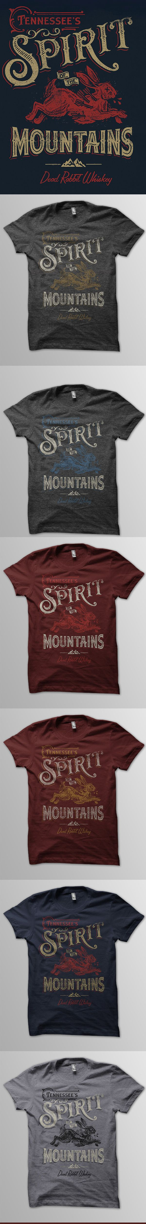 Design t shirt zazzle - Tennessee S Spirit Of The Mountains By Derrick Castle Typography Designcool Shirt Designsvintage