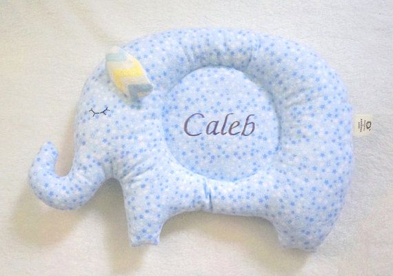Sale Personalized Baby pillow embroidered toddler by AWESOMEbebe