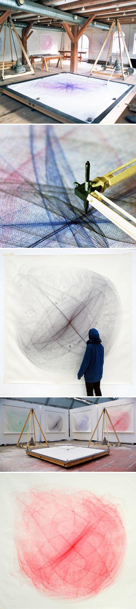 'drawing machine' by eske rex