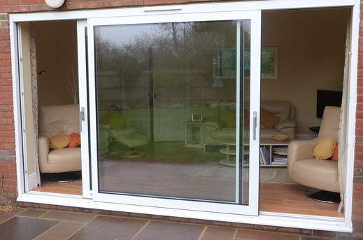 Select from a range of Lift And Slide Double Glazed Doors available at PVC Windows Australia.