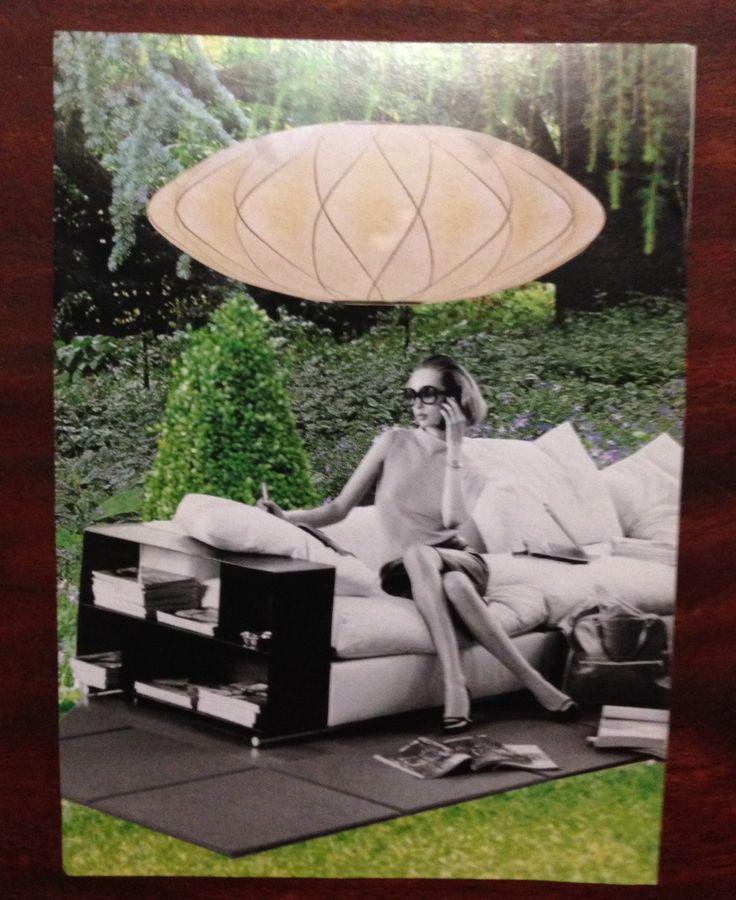 Collage, postcard sized, by Kim Dyson (kimblestar)