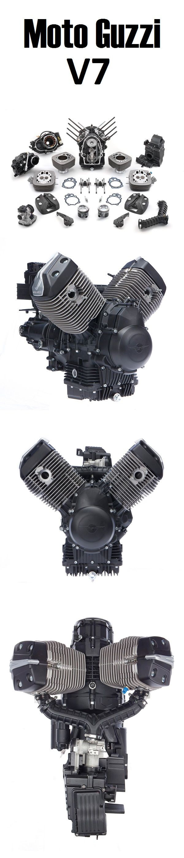 Moto Guzzi V7 Engine                                                                                                                                                                                 More
