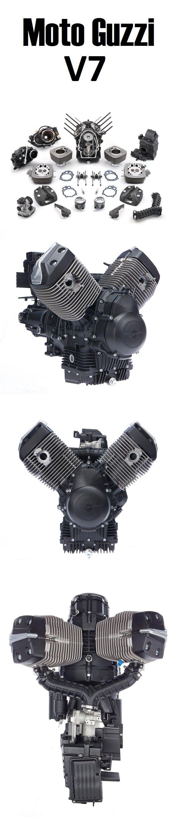 Moto Guzzi V7 Engine                                                                                                                                                                                 More