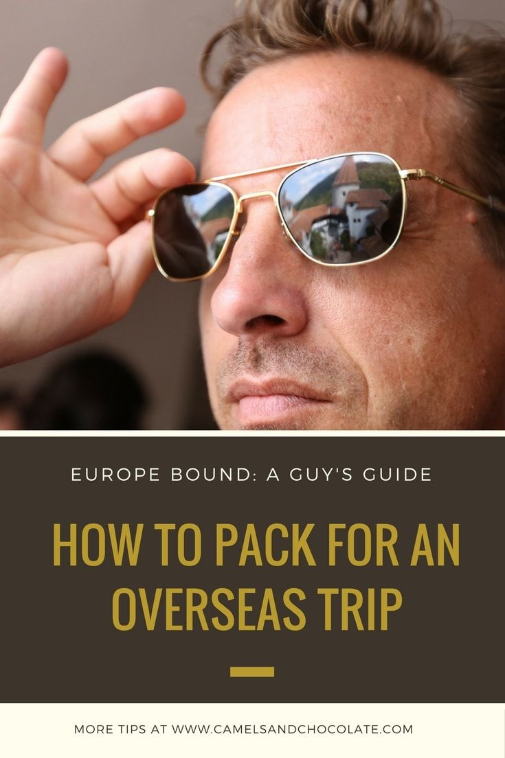 Packing for Three Weeks in Europe: A Guy's Guide to Style on the Road