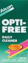 #care  For Soft, Rigid Gas Permeable and Hard Contact Lenses.  #Opti-Free® Daily Cleaner  combines cleaning agents to provide concentrated cleaning action which ...