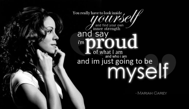 Mariah Carey Quote - 3 by ~sienetta on deviantART