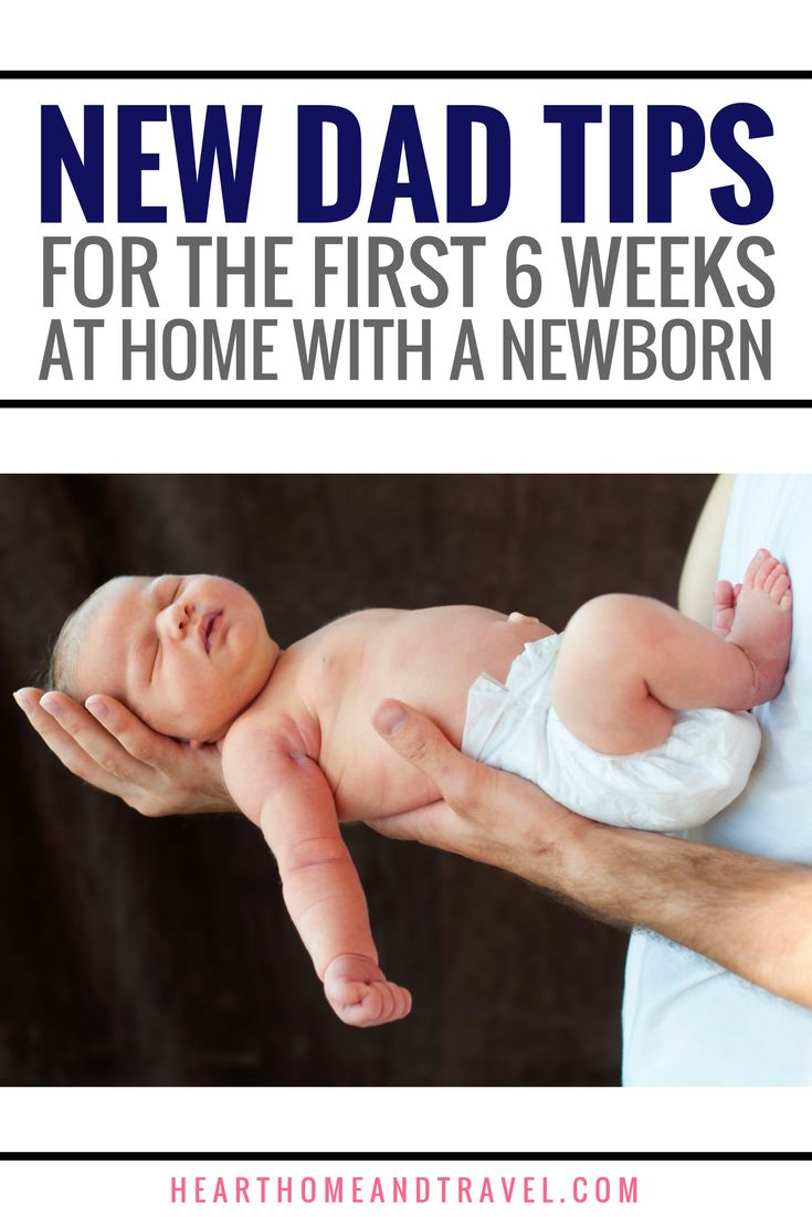 Baby on the way?  Check out this helpful list of 15+ new dad tips for the first six weeks at home with a newborn.   via @hearthometravel