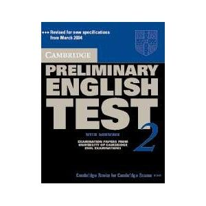 PRELIMINARY ENGLISH TEST 2  WITH ANSWERS