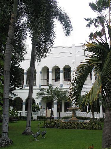 Oranje hotel, Surabaya, Java.Oranje hotel (Hotel Majapahit), Surabaya, Java