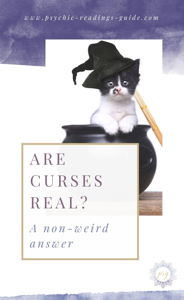 Are curses real? I get asked this question a ton, so I figured I'd give you the lowdown. Honestly, there's only one situation where a curse can mess you up. via @PRG_psychic