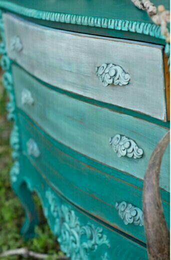 Turquoise | Aqua | Blue-green | drawer