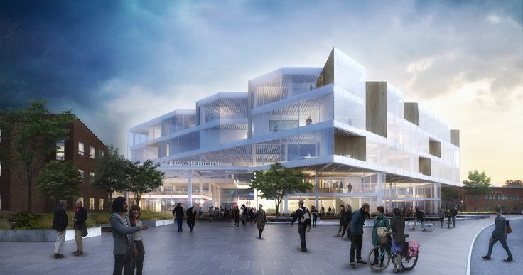 Henning Larsen Architects Wins Competition to Design a New Forum at Lund University