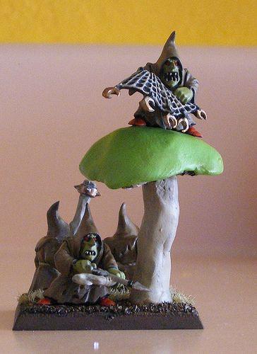 regiment base warhammer night goblin | Night Goblin Unit Filler (+mushroom)