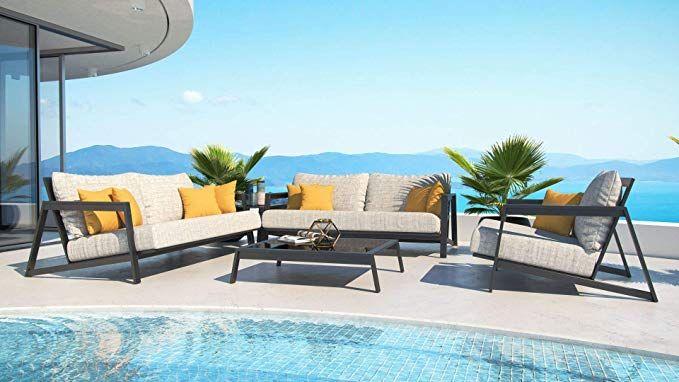 Amazon De Artelia Leonardo M Luxus Loungemobel Set Designer