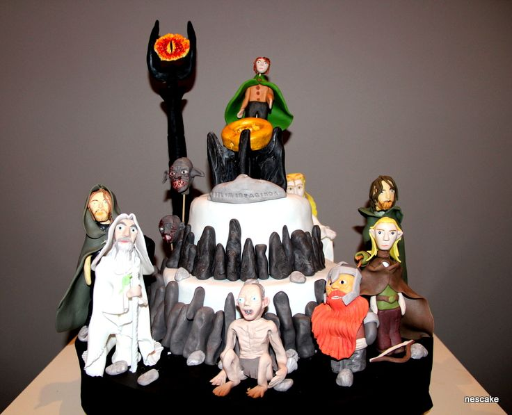 The Lord Of The Rings Cake: