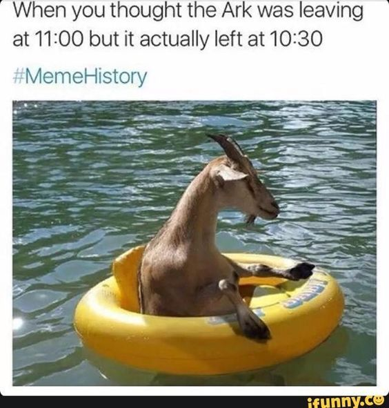 It wasn't too long ago when the hashtag #MemeHistory flooded our timelines with real-life reactions to some of the most common historical events told in the Bible. We've gathered some of our favorites here that were too hilarious to forget!                        &nbsp...