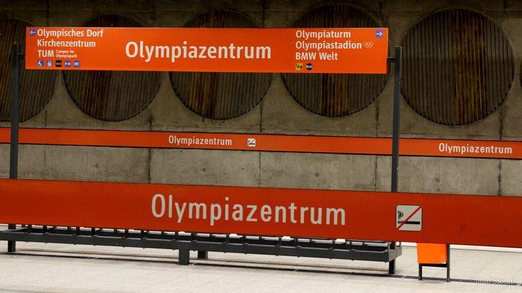 U-Bahnhof #Olympiazentrum #München #Munich
