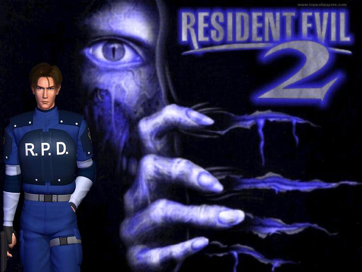 Resident Evil 2 Leon B Заставка.