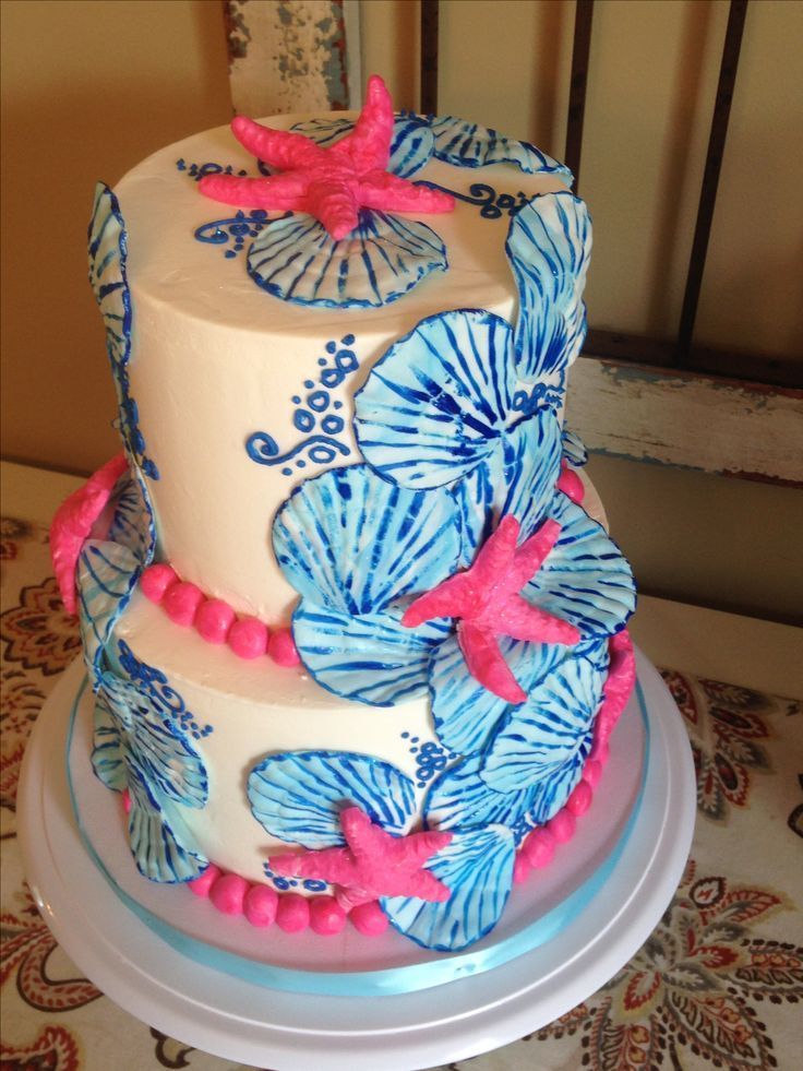 Lilly Pulitzer Cake – #Cake #Lilly #Pulitzer #soir…