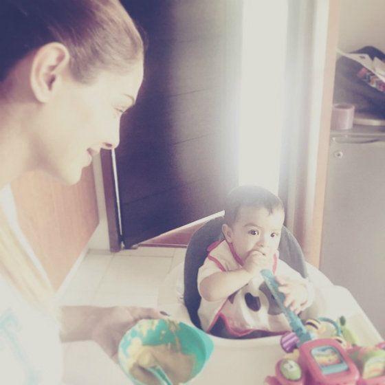 Ninel Conde so synčekom Emmanuelom (foto: Instagram Ninel Conde)