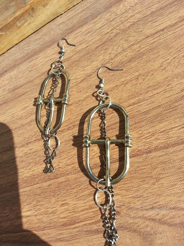 Earing recycled buckles