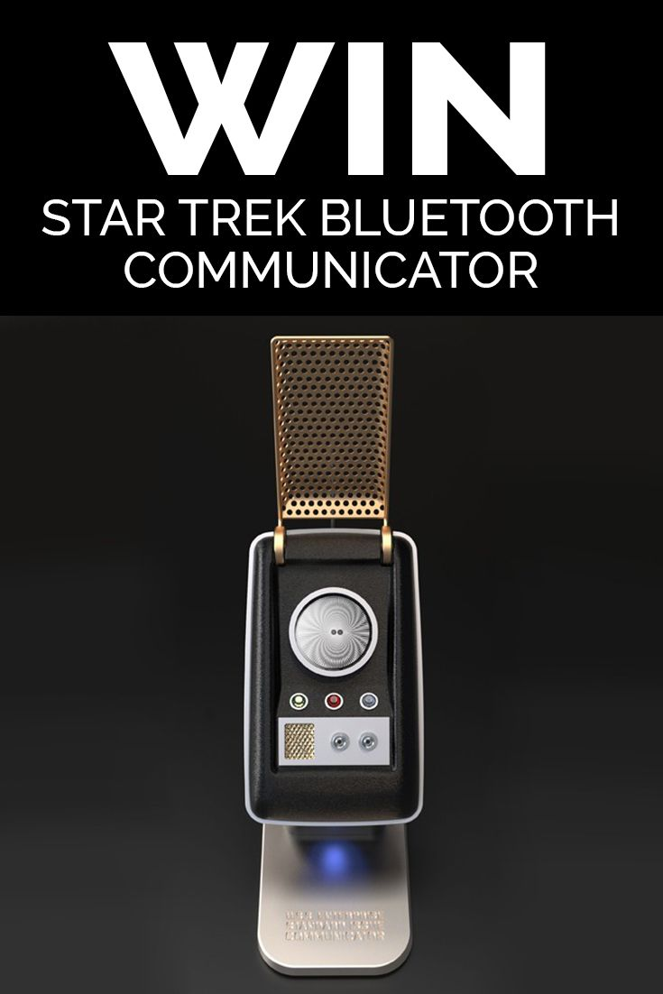Win a Bluetooth Star Trek Communicator worth $229.99