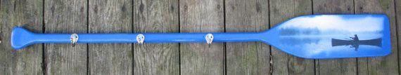 Decorative Boat Paddle Coat Hook Oar Coat by OneTimelessTreasure