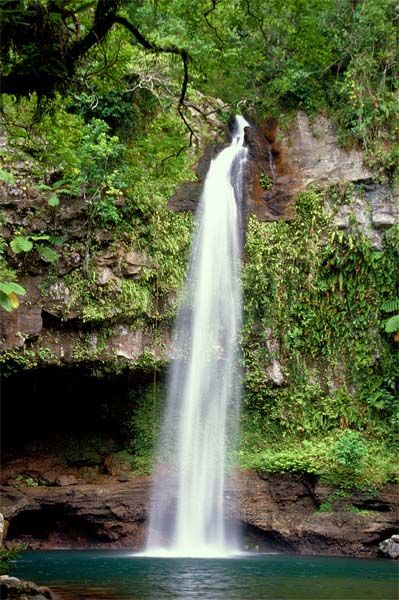 Fiji: The Bouma Waterfalls In Fiji's Bouma National