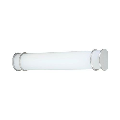 Parallel Brushed Nickel 49-Inch Two-Light Fluorescent Wall Sconce