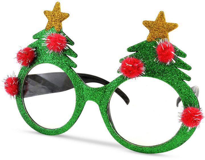Celebrate Shop Christmas Tree Novelty Sunglasses, Created for Macy's