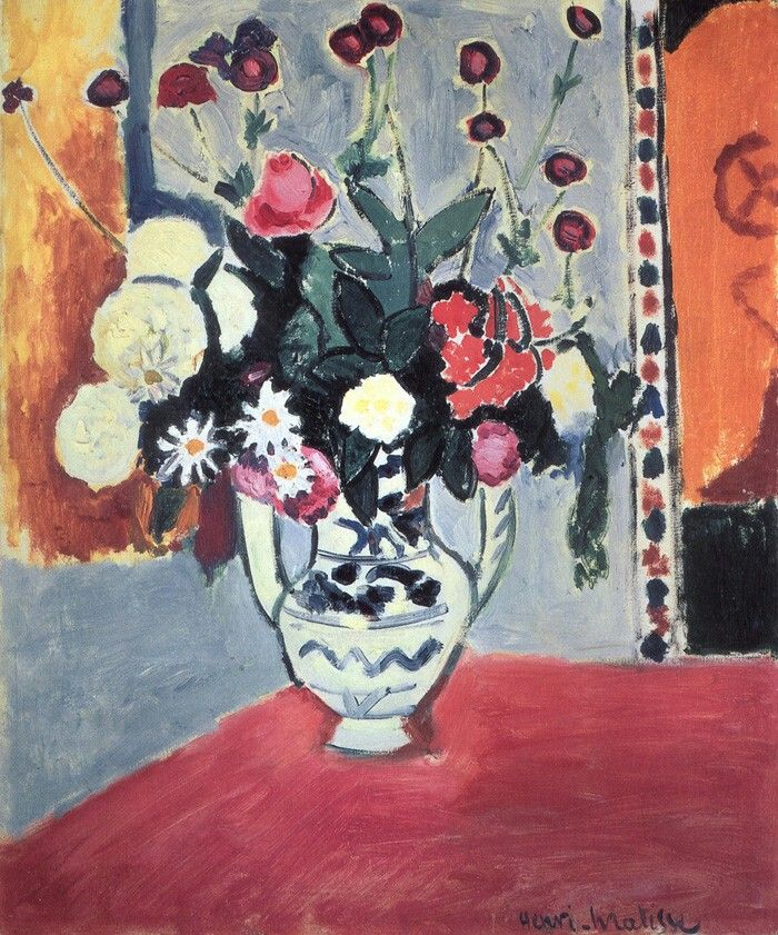 Vase with Flowers 74 x 61 cm. Hermitage, Saint Petersburg 1907