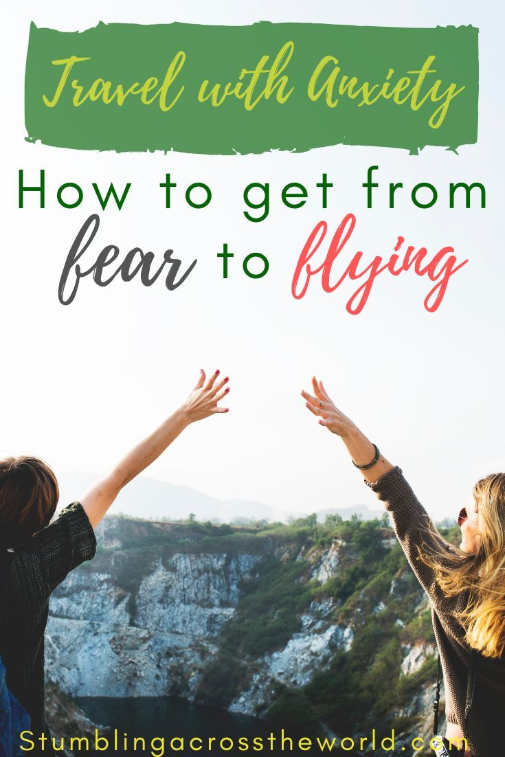 How to overcome your fears and start to fly! Three stages of