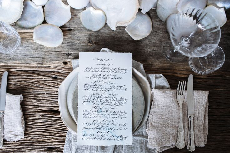 Watercolour Workshop & Winter Lunch by the Sea / Wedding Style Inspiration / LANE