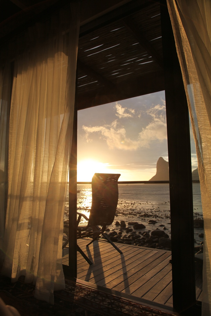 a room with a view.. Tintswalo Atlantic by HJB