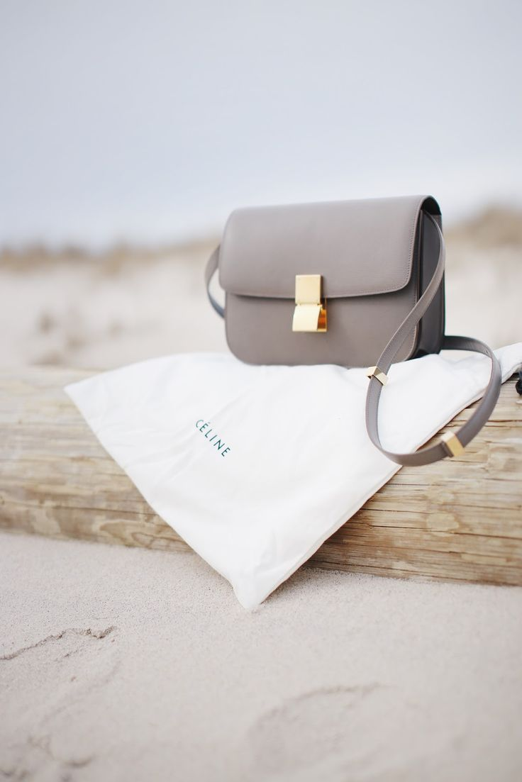 STYLED & SMITTEN: Céline Classic Box Bag in Souris