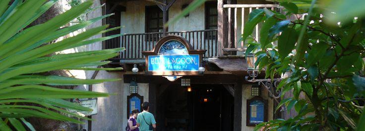 Blue Lagoon Restaurant - Adventureland - menu looks fab! A La Carte