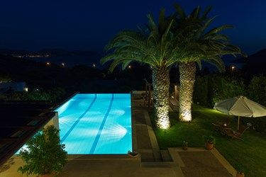 Beautiful #view of the #gardens, #pool and the ocean