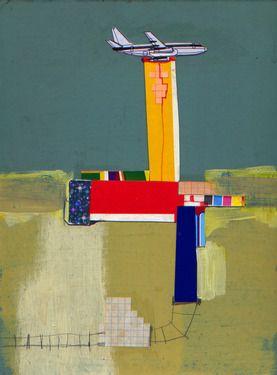 "Saatchi Online Artist Tomas Hache; Unknown, ""Lanscape near to an airport"" #art"