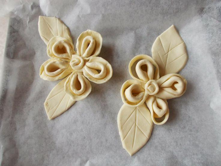 beautiful pastry presentation idea..